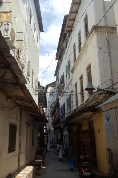 Alleys in Old Stone Town Zanzibar