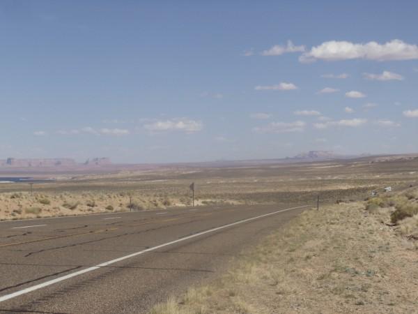 desert road USA