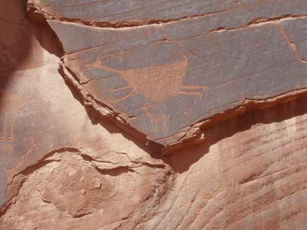 Rock Paintings Monument Valley