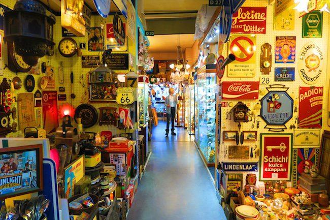 De Looier Antique Market Amsterdam