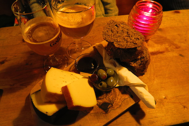 Gollem Bar Cheese Platter