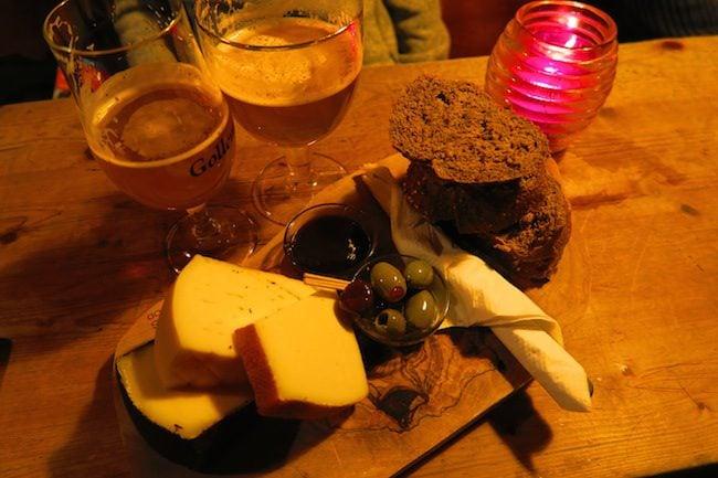 Gollem Bar Cheese Platter