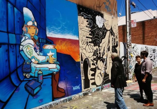 Clarion Alley Murals San Francisco