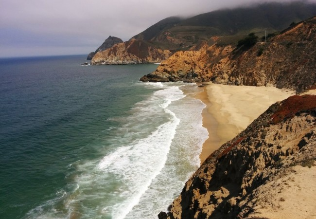 Gray Whale Cove Beach Big Sur Pacific Coast Highway