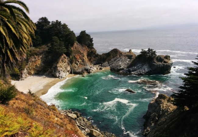 McWay Falls Big Sur California Pacific Coast Highway