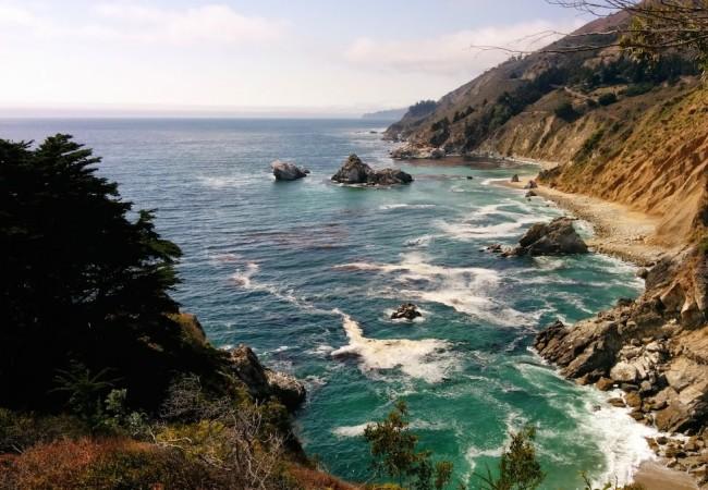 McWay Falls Big Sur California Pacific Coast Highway
