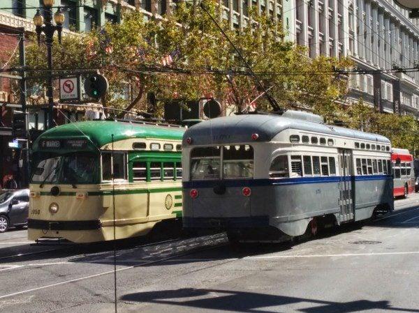 Street Cars San Francisco