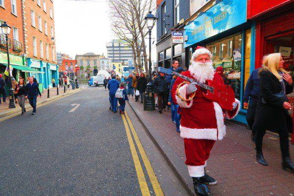 Santa in Dublin