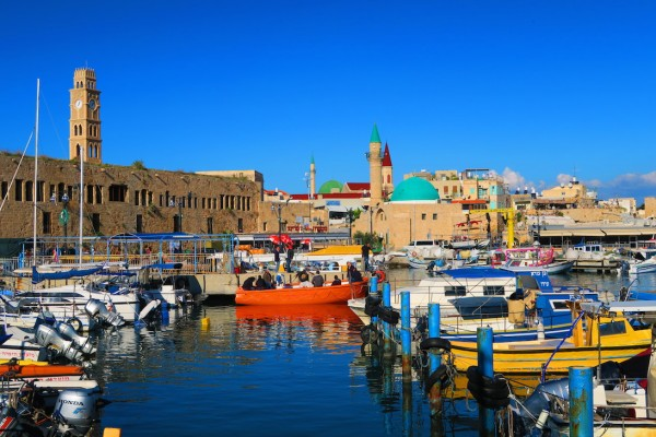 Marina in Old Acre Israel