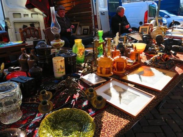 Noordermarkt Antique Market Amsterdam