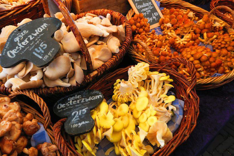 Noordermarkt Farmers Market Amsterdam