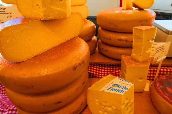 Cheese in Noordermarkt Amsterdam