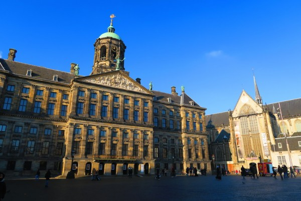 Dam Square Royal Palace Amsterdam