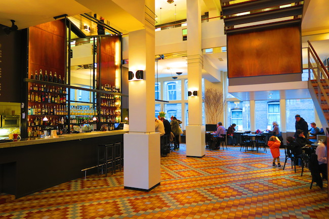 Inside the Cafe de Jaren Amsterdam