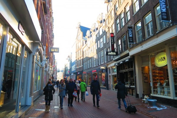 Kalverstraat Amsterdam Shopping