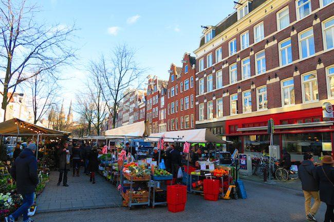 Lindengracht Market Amsterdam