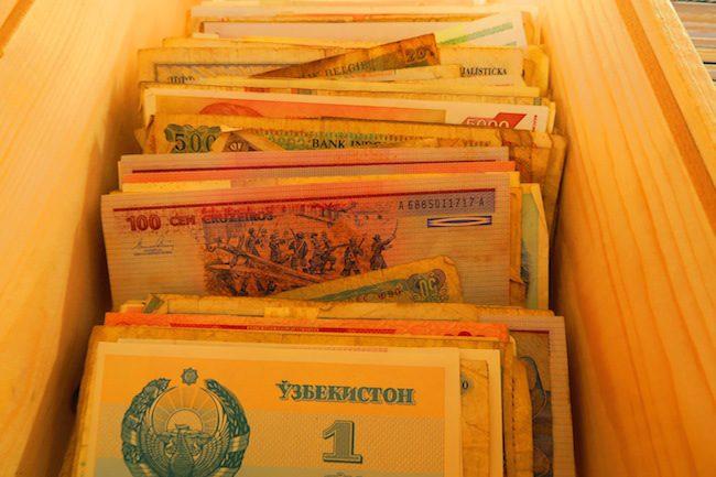 Noordermarkt Amsterdam Antique Cash