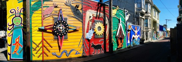 Balmy Alley Murals San Francisco