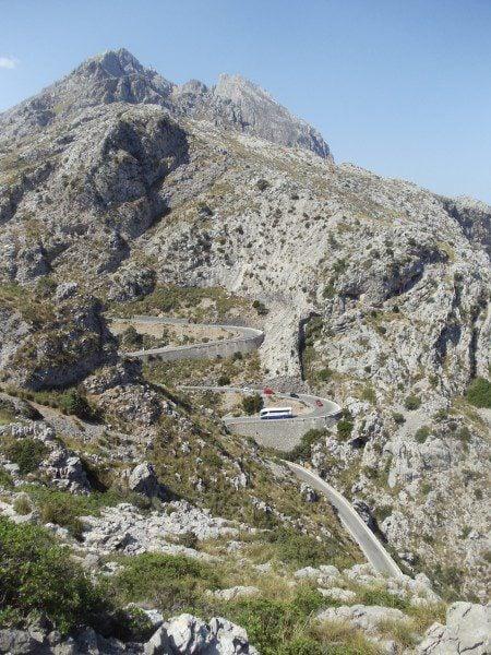Road to Sa Calobra Mallorca