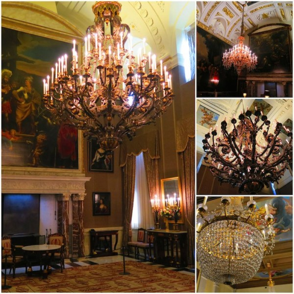 Royal Palace Amsterdam Chandeliers