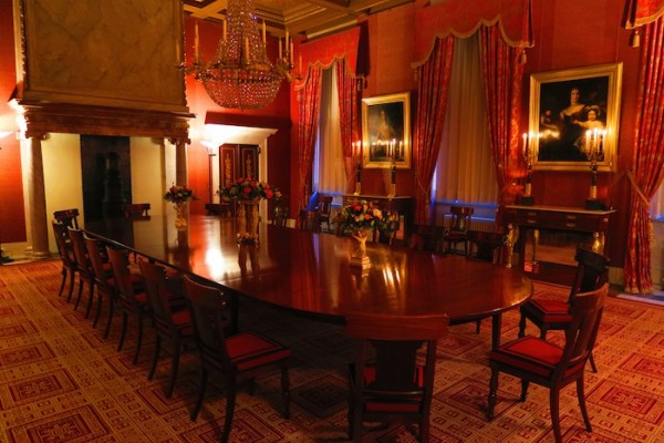 Royal Palace Amsterdam Dinin Room