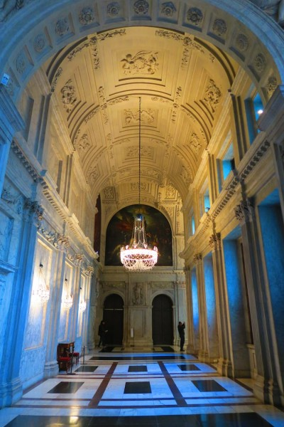 Royal Palace Hallway Amsterdam