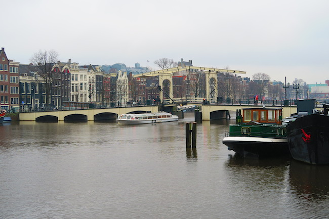 The Skinny Bridge Amsterdam