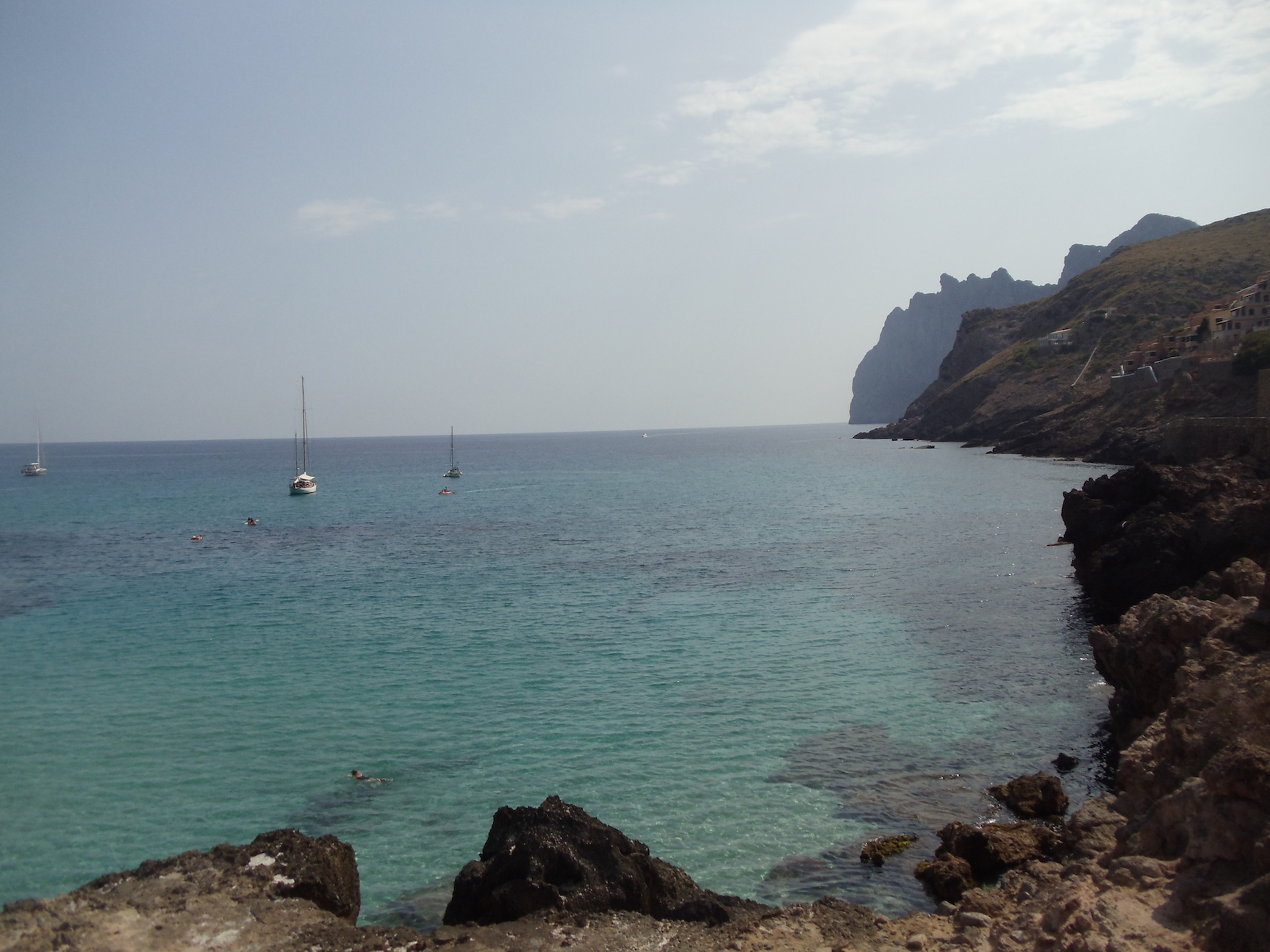 hidden beach Mallorca Cala san Vicente