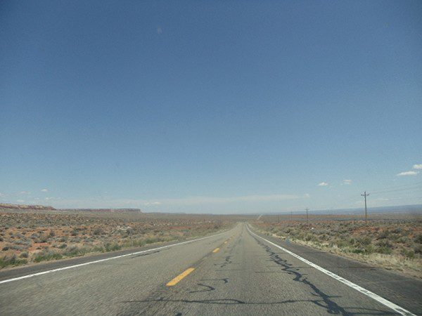 desert road USA