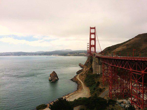 Golden Gate Bridge 5 days in san francisco